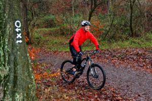Mountainbike Grundposition