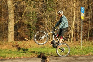 Bunny Hop Mountainbike