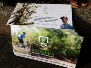 Mountainbike Gutsschein